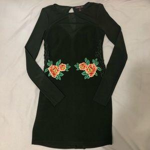 Material Girl Black Bodycon Dress